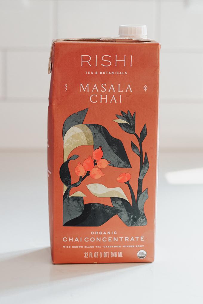 Rishi Masala chai concentrate.